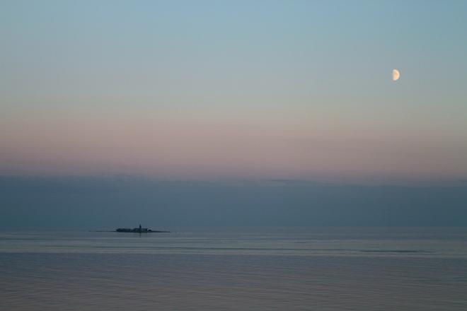 Small Baltic Island off the coast of Russia